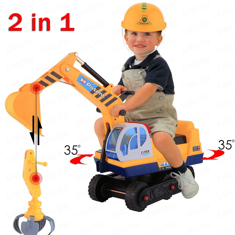 Sandkastenbagger Sandbagger Bagger Sitzbagger Kinderbagger Sandkasten Spiel