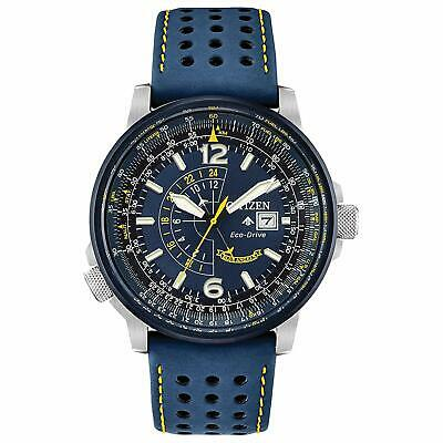 Citizen Eco-Drive Men's Blue Angels Promaster Nighthawk 42mm Watch BJ7007-02L