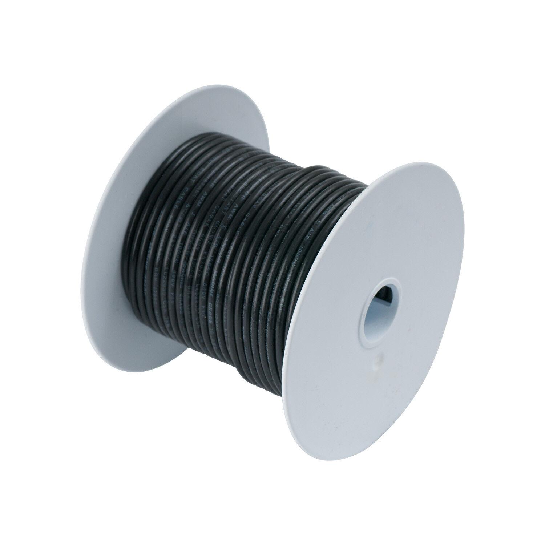 10Ga Ul 1426 Black Marine Wire Tinned Copper Wire 100 Feet//Spool