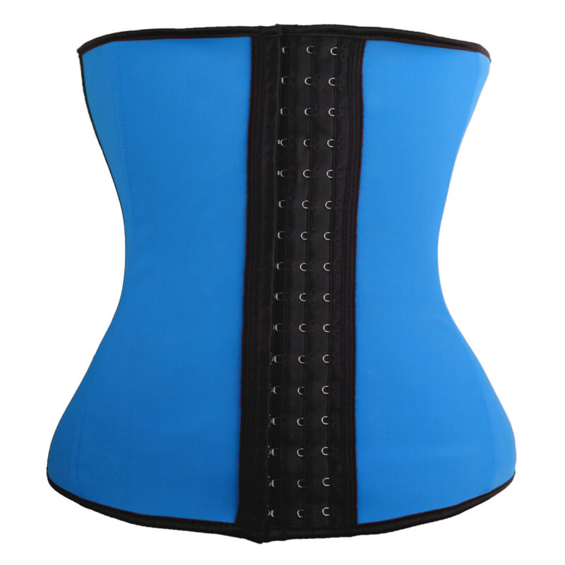 Fajas Colombianas Shapewear LATEX Waist Trainer Cincher Corset Gym Sports Girdle