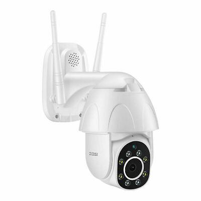 ZOSI 1080P Cámara de Vigilancia WiFi Exterior IP Inalámbrica Audio Bidireccional