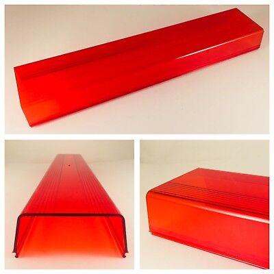 Whelen 4000 Series Advantedge Lightbar Red Replacement Lens - New