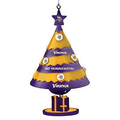 Vikings Ornaments (Minnesota Vikings Football Team Logo NFL Holiday Christmas Tree Bell)