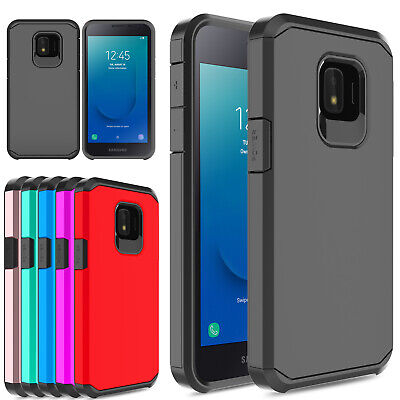 Virgin Mobile Phone Cases - For Samsung Galaxy J2 2019/J2 Core/Dash/Pure/Shine Shockproof Hybrid Armor Case