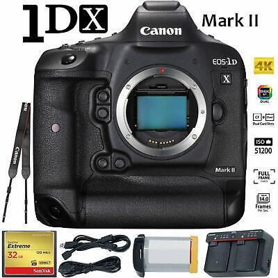 Canon EOS-1D X Mark II DSLR Camera Professional Bundle