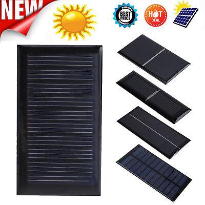1/2.5/5.5/12V Solar Panel Battery Charger 1W 1.5W 2W Silicon Power DIY Module 1,5 W Solar Panel