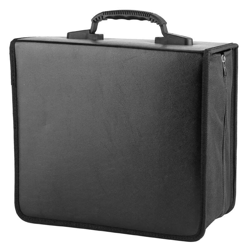400 Disc CD/DVD Binder Case Storage Sleeves Bag Media Disk Wallet Album Portable