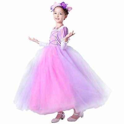 Halloween Disney Fancy Dress Party Costume Cosplay Rapunzel