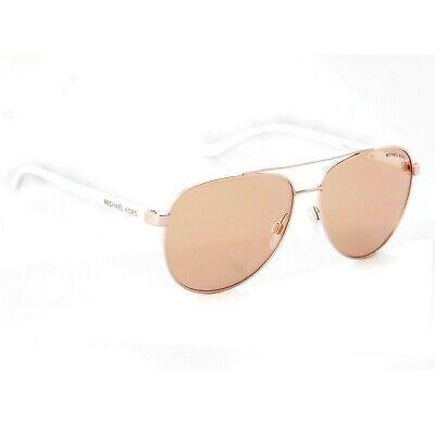 Michael Kors Hvar Sunglasses Rose Gold / Rose Gold Flash 0MK5007 1080/R1 (Rose Gold Tinted Sunglasses)