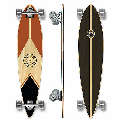 YOCAHER Pintail Longboard Complete - Earth Series - Mountain (GCPT122)