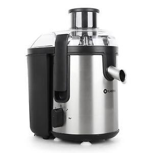centrifugeuse extracteur a jus de fruit mixeur presse agrumes 400w inox noir pro. Black Bedroom Furniture Sets. Home Design Ideas