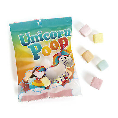 15 packs UNICORN POOP Marshmallow Candy Strawberry Birthday PARTY - Candy Party