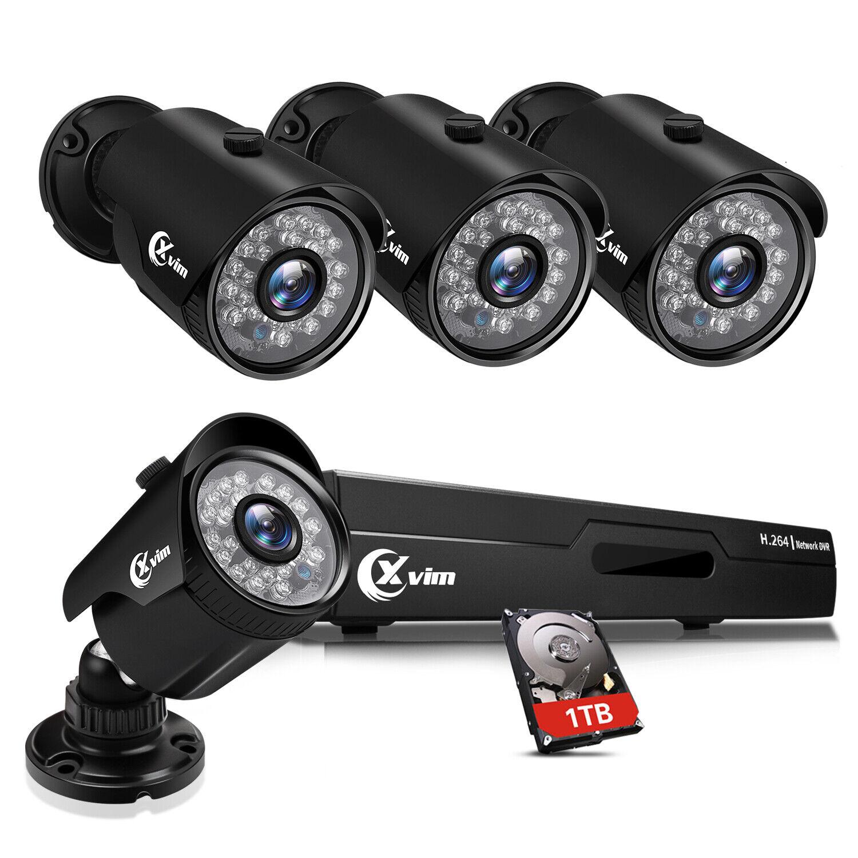 XVIM 8CH 1080p DVR 2MP Outdoor Home Security Camera System w