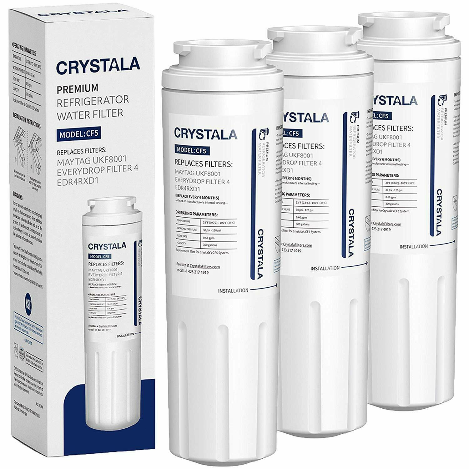 1-3pack Refrigerator water filter Fits Kenmore Pur 9006, 46-