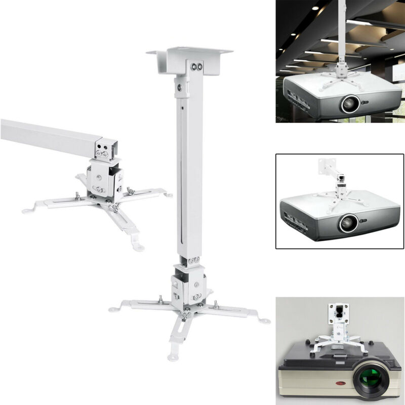 Universal Projector Ceiling Mount Bracket Fitting Flat for LCD/DLP Projector,USA