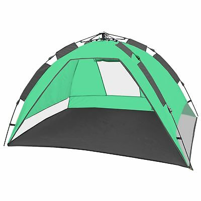 CampFeuer® Pop up Automatik Strandmuschel Beach Tent Sonnenschutz UV50+ STM2_2