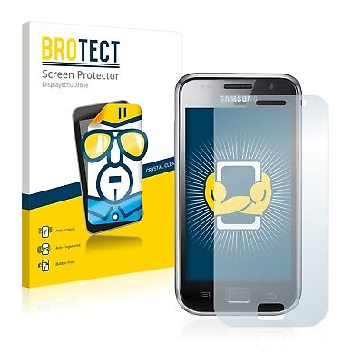 2x BROTECT Screen Protector for Samsung GT-i9000 Protection Film I9000 Screen Protector