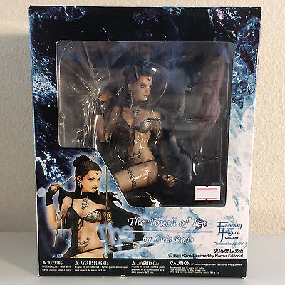 New The Touch of Ice By Luis Royo Fantasy Figure Gallery Statue Yamato USA