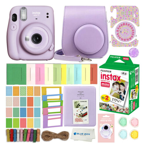 Fujifilm Instax Mini 11 Instant Camera Lilac Purple 20 Fuji