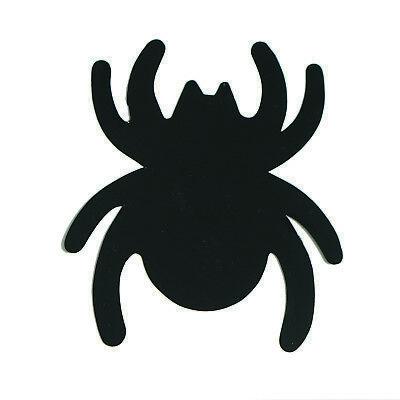 Spider Cutouts Plastic Shapes Confetti Die Cut 15 pcs  FREE SHIPPING
