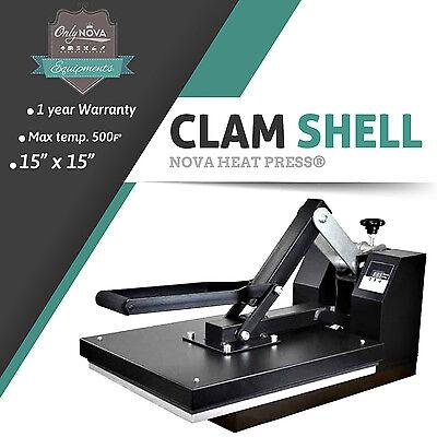 Nv-15 15 Heat Press Machine For Vinyl Rhinestone Heat Transfer Paper More