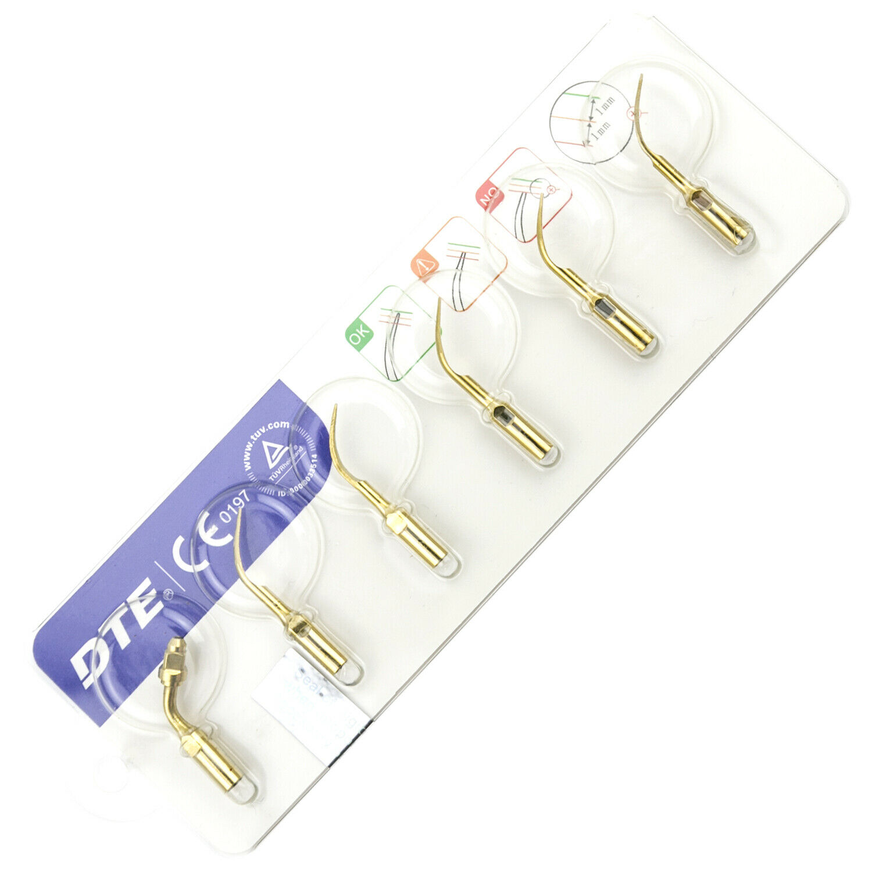 100% Woodpecker Dental Lab DTE Ultrasonic Piezo Scaler D5 LED Handpiece SATELEC 5