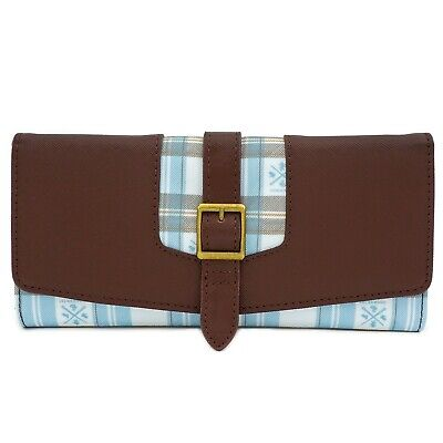 Loungefly x Harry Potter Hogwarts Plaid Flap Wallet - NEW!
