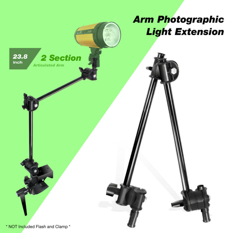 360 Degree Magic Arm Photographic Light Extension for Photo Video Studio