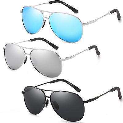 Polarized Classic Aviator Sunglasses for Men and Women 100%