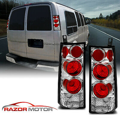 2003-2015 GMC Savana/Chevrolet Express 1500/2500/3500 Chrome Brake Tail Lights