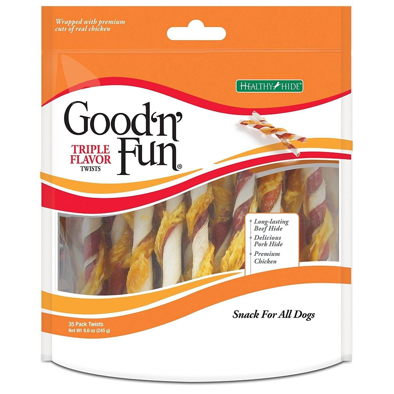 healthy hide good n fun triple flavor