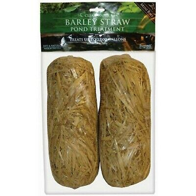 Summit 130 Clear-water Barley Straw Bales, 2-Pack 130 Clear Water Bales, 2-Pack