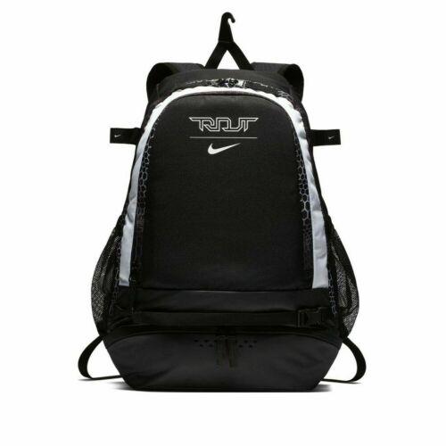 Nike Trout Vapor Baseball Bat Backpack W/ Laptop Sleeve Black White BA5436 011