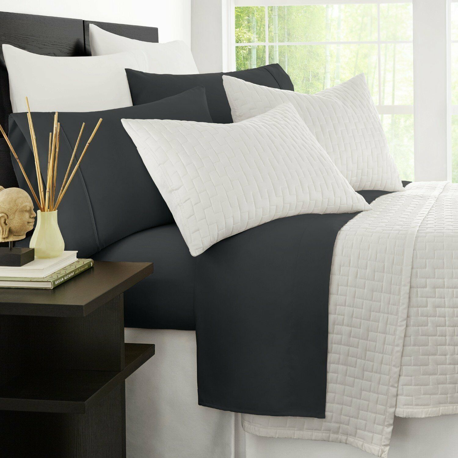 Zen Bamboo Luxury 1500 Series Bed Sheets - Eco-friendly,