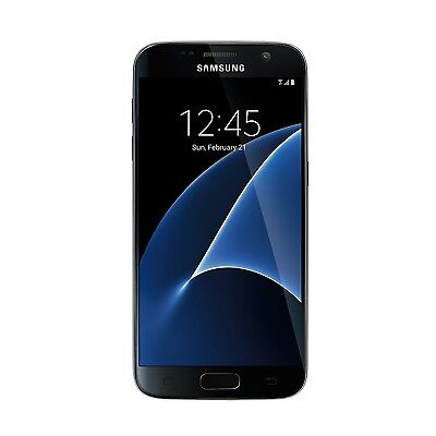 New Samsung Galaxy S7 SM-G930V 32GB Verizon Black Onyx Android Smartphone