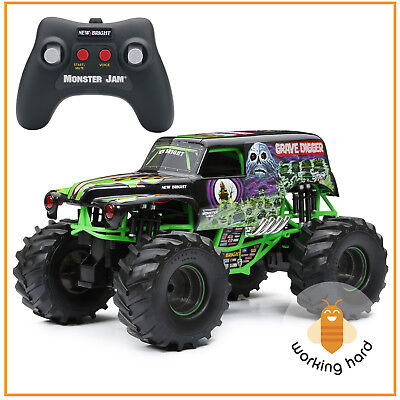 Grave Digger 1 10 Rc Remote Control Monster Jam Racing Car Truck Toy Kids Gift