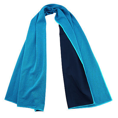 Evaporative Cooling Towel Instant Relief for Sports Fitness and Hot Environment ()