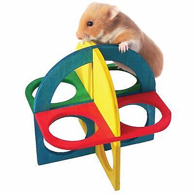 Rosewood Boredom Breaker Small Pet Hamster Gerbil Mice Toy Wood Play n Climb Kit Boredom Breaker Toy