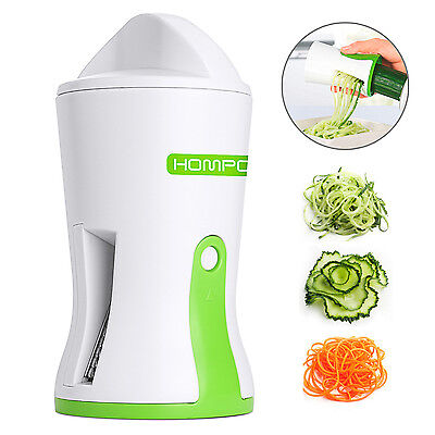 Handheld Vegetable Spiral Slicer Fruit Cutter Peeler Kitchen Spiralizer Twister