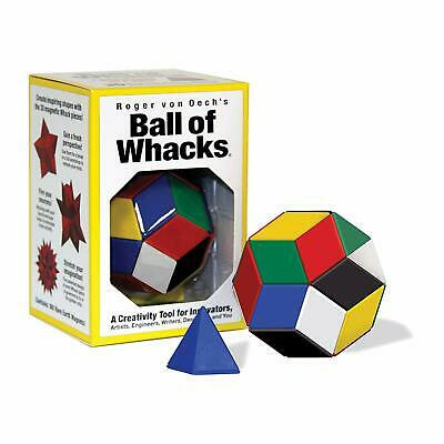 Magnetic Teaser (BALL OF WHACKS Creativity Tool Magnetic Blocks Ball Puzzle Brain Teaser)