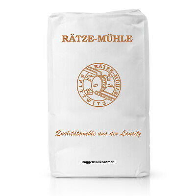 Bäckerei George    Roggenvollkornmehl Mehl Bäckerqualität   1 KG, 5 KG
