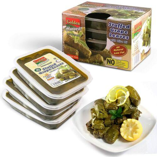 Golden Harvest Stuffed Grape Leaves, Olive Oil Based Prepared Food 32 Oz (2LB)
