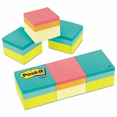 Post-it Notes Mini Cubes - 2 X 2 - Assorted Ultra Colors 3 Pack 400-sheetpads