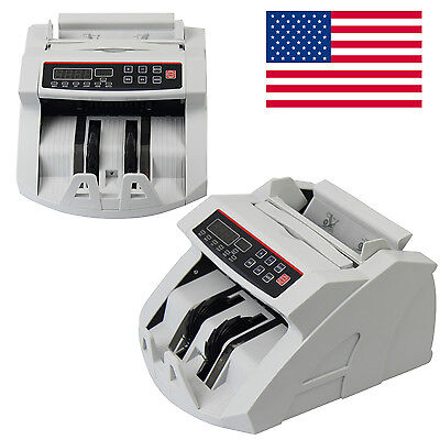 Money Bill Currency Counter Counting Machine Counterfeit Detector Uv 900pcmin