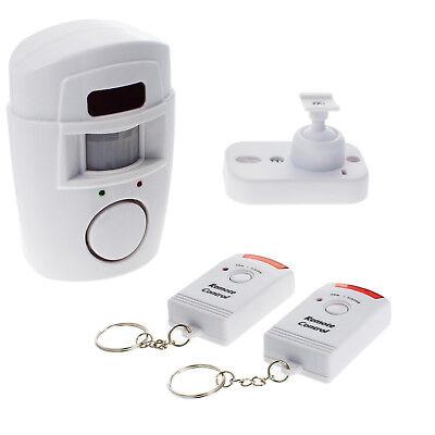 Alarmanlage Bewegungsmelder Bewegungssensor Schutz Sicherheit mit 105 dB Sirene