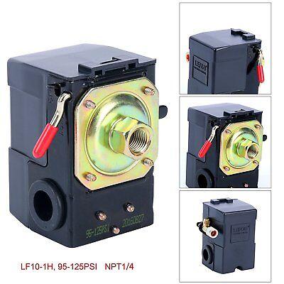 Single Port Air Compressor Pressure Switch Control Valve With Unloader