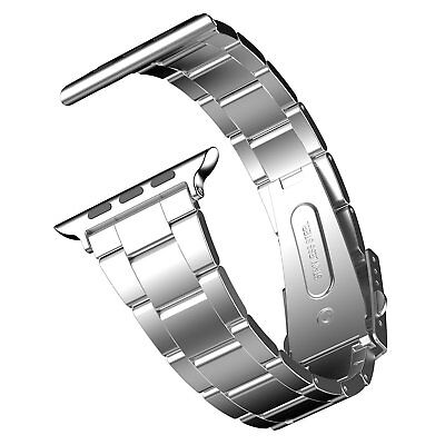 Stainless Steel Folding Clasp - Solid Stainless Steel Band with Durable Folding Clasp for 42mm Apple Watch New