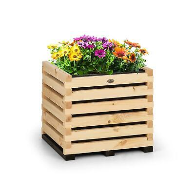 REFURB. Blumfeldt Modu Grow 50 Raised Growing Bed 50 x 50 x 45 cm Pine Wood Pine