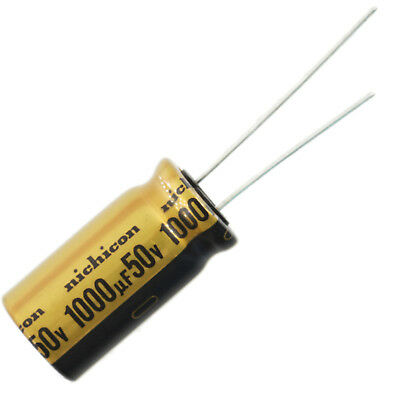 Nichicon Ufw Audio Grade Electrolytic Capacitor 1000uf 50v 20 Tolerance