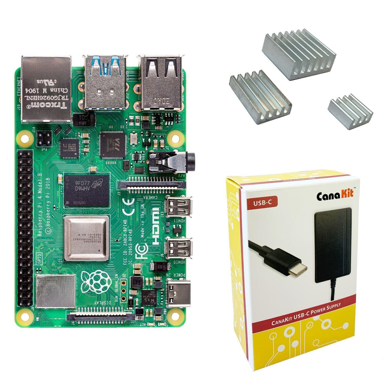 raspberry pi 4 1gb basic kit options